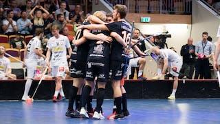 Kramkalas hos Mullsjö när lagen möttes i slutspel förra året
