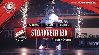 Dags för match mot Örebro Kings!