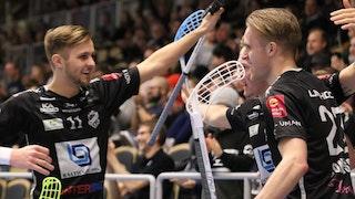 Johan Larsson och Daniel Sonidsson två av kvällens målskyttar