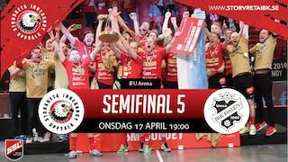Missa inte semifinalen mellan Storvreta IBK och IBK Dalen!