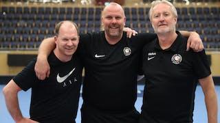 Från vänster Roger Söderlund, Jörgen Karlsson, Kent Bäckström