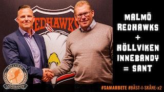 Jon Cervin, Höllviken Innebandy och Patrik Sylvegård, Malmö Redhawks