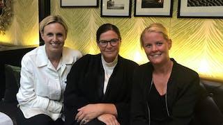 Anna Fahle Björcke, Stina Wallenbeck och Madelene Hansson