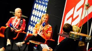 Anna Wijk och Veera Kauppi