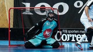 Simon Lööf var bästa spelare i Mullsjö denna afton