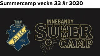 Summercamp är tillbaka!