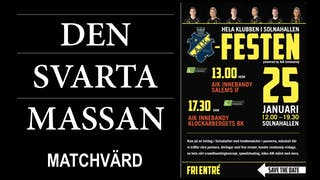 AIK Festen - Matchvärd SVARTA MASSAN