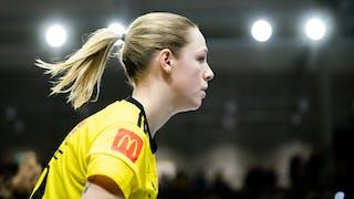 Stephanie Boberg i profil. Foto: Magnus C Lydahl