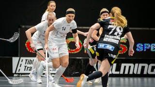 Täby FC fokuserar på boll mot Endre i SSL