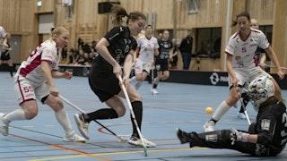 Action i matchen mellan Lund och Malmö