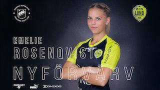 Rosenqvist är klar för Lund